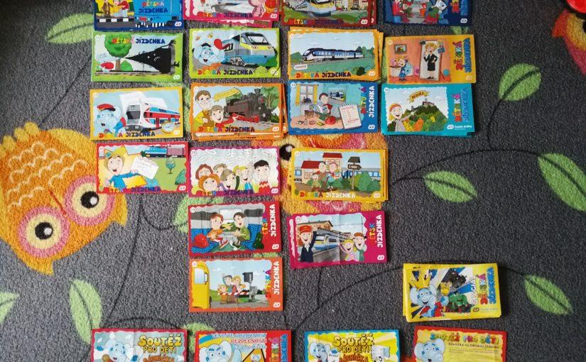 Naše sbírka Dětských jízdenek