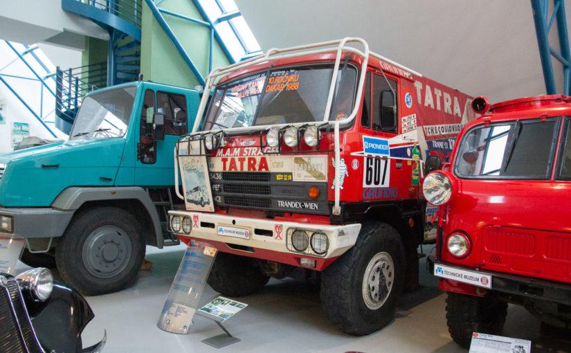 Za Tatrovkou, co vyhrála Dakar